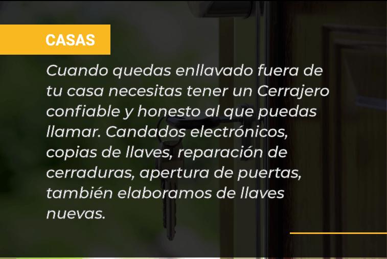 Casas - Servicios Cerrajero Managua